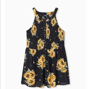 Sunflower tank 4 x
